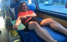 Akcja poboru krwi przy KPP w Pucku_4